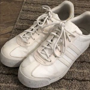 White Adidas Sneakers from Urban Outfitters